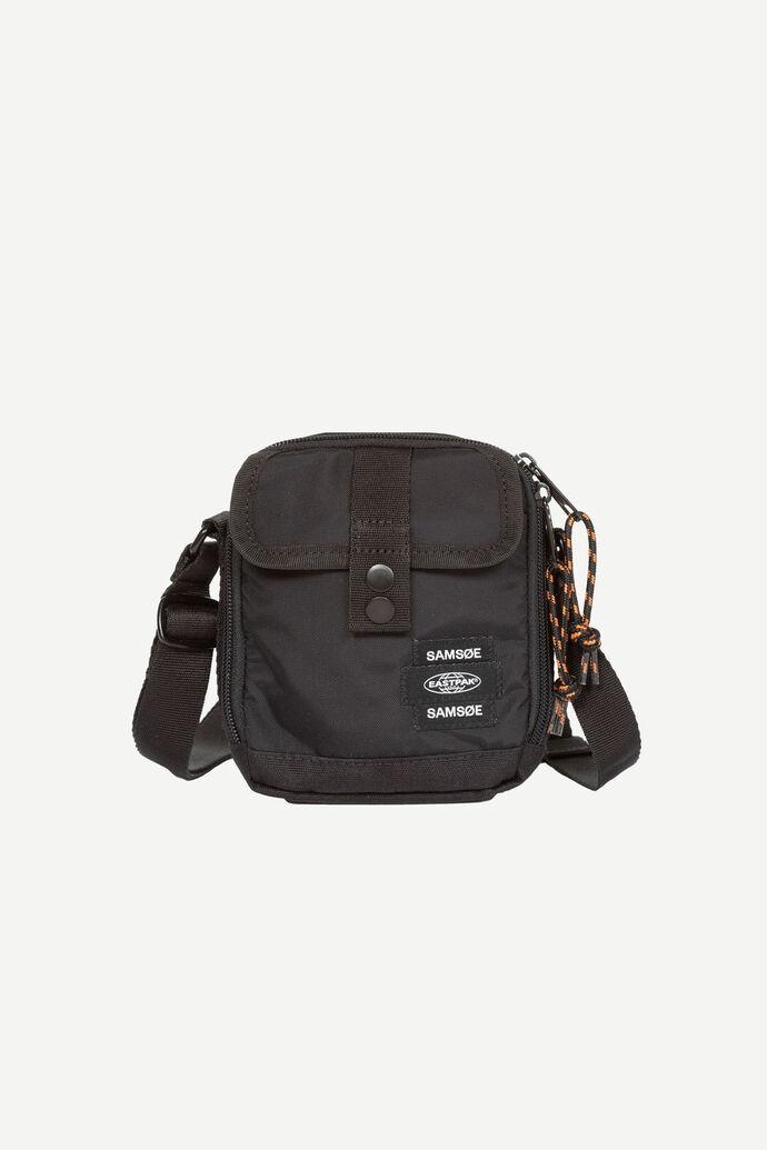 E Crossbody Bag 13052, BLACK