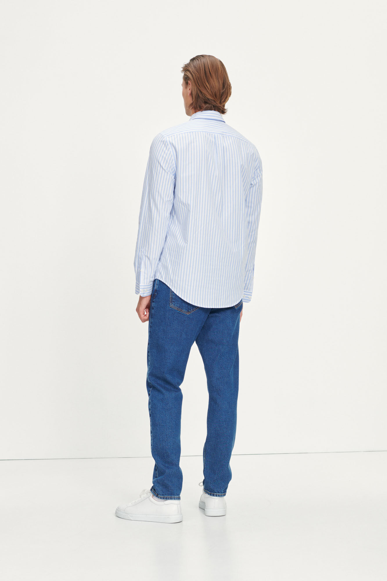 Liam NP shirt 13072, DUSTY BLUE ST.
