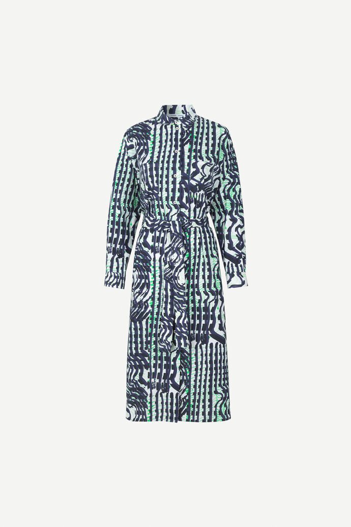 Johannah dress aop 11332, SEISMOGRAPH