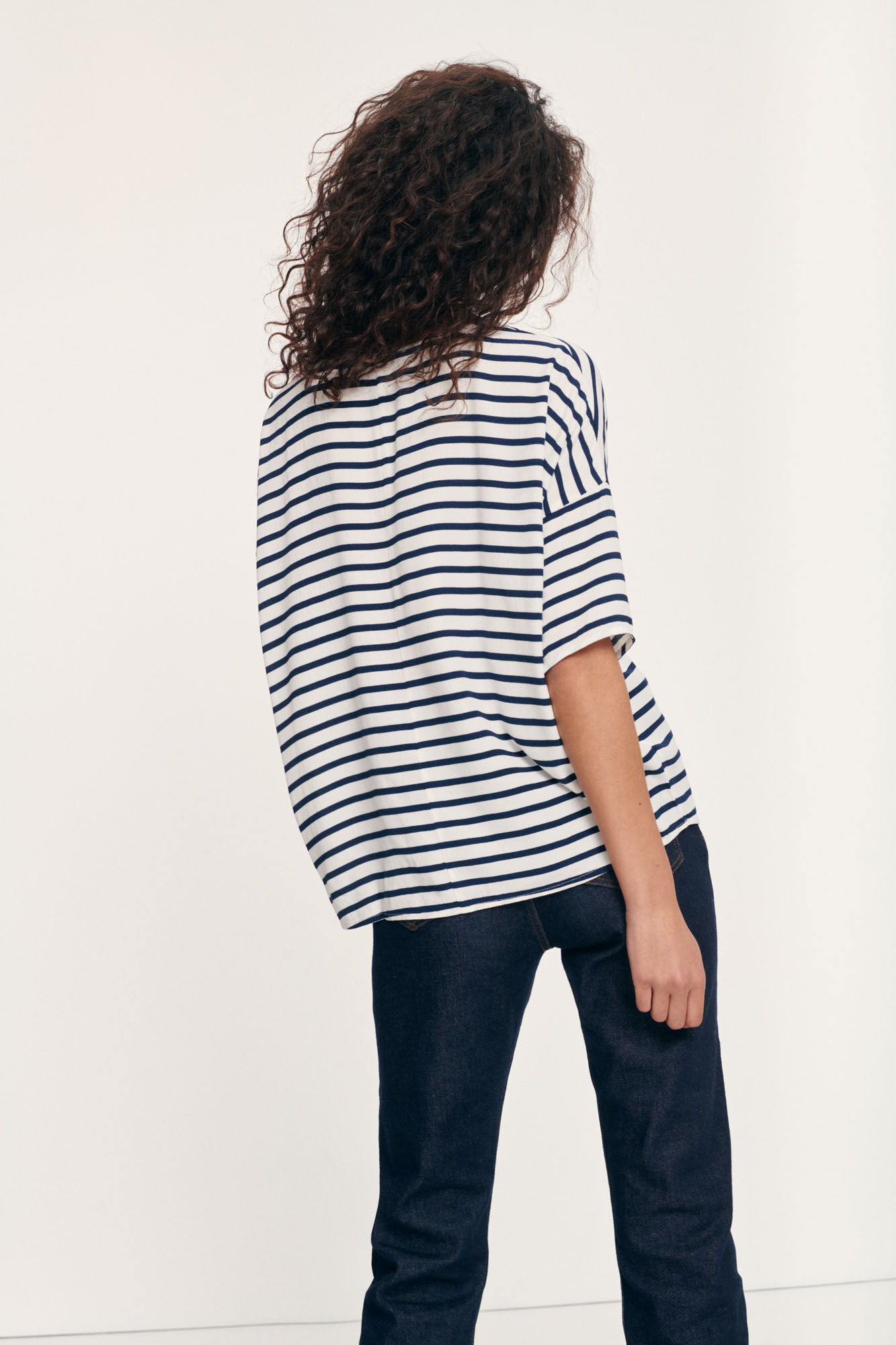 Mains tee stripe 5687