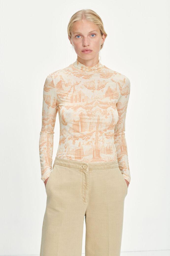 Elsi t-n t-shirt ls aop 10908