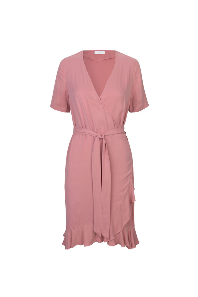 Limon ss dress 9941, DUSTY ROSE