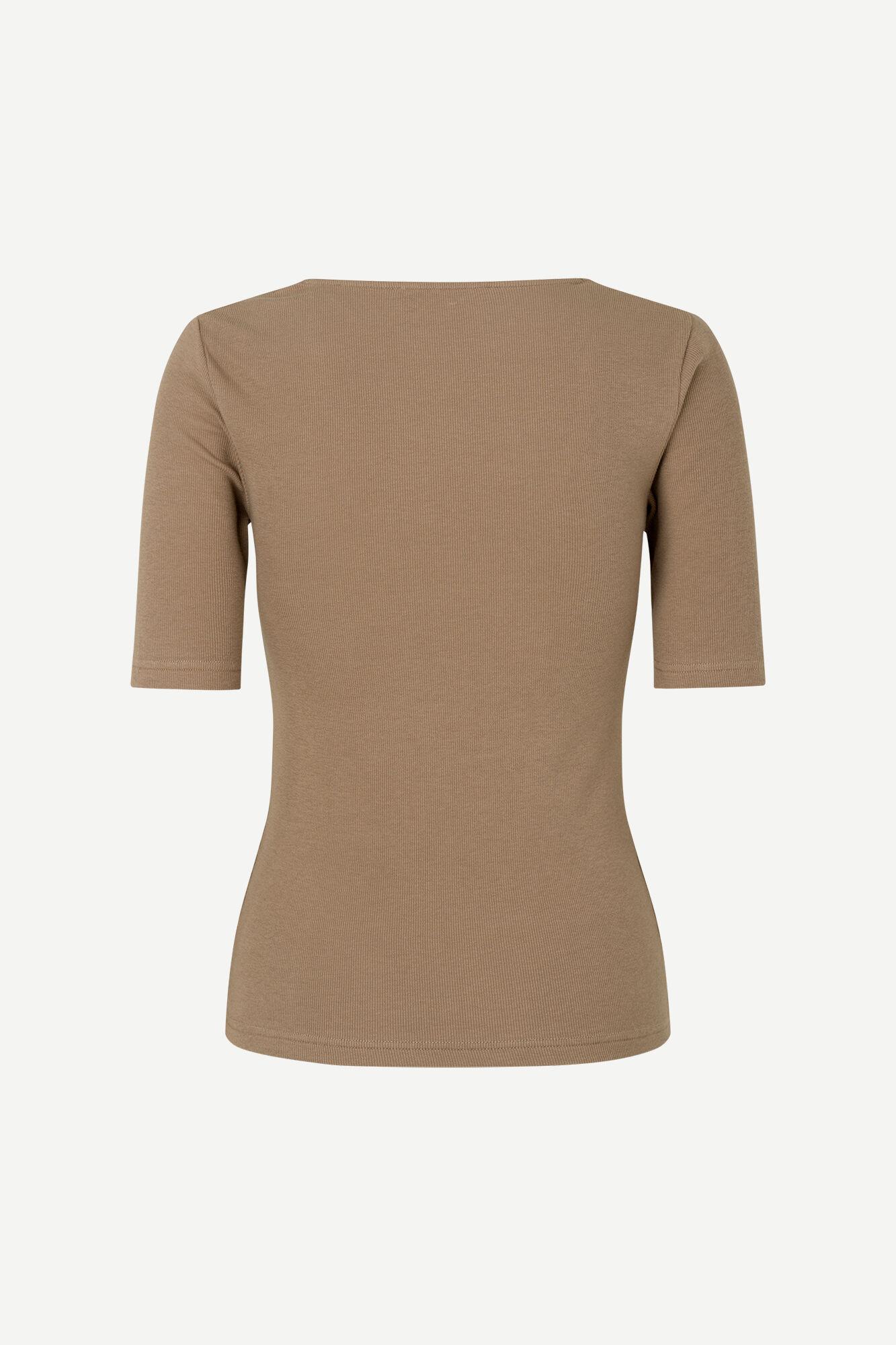 Alexo ss t-shirt 7542, CARIBOU