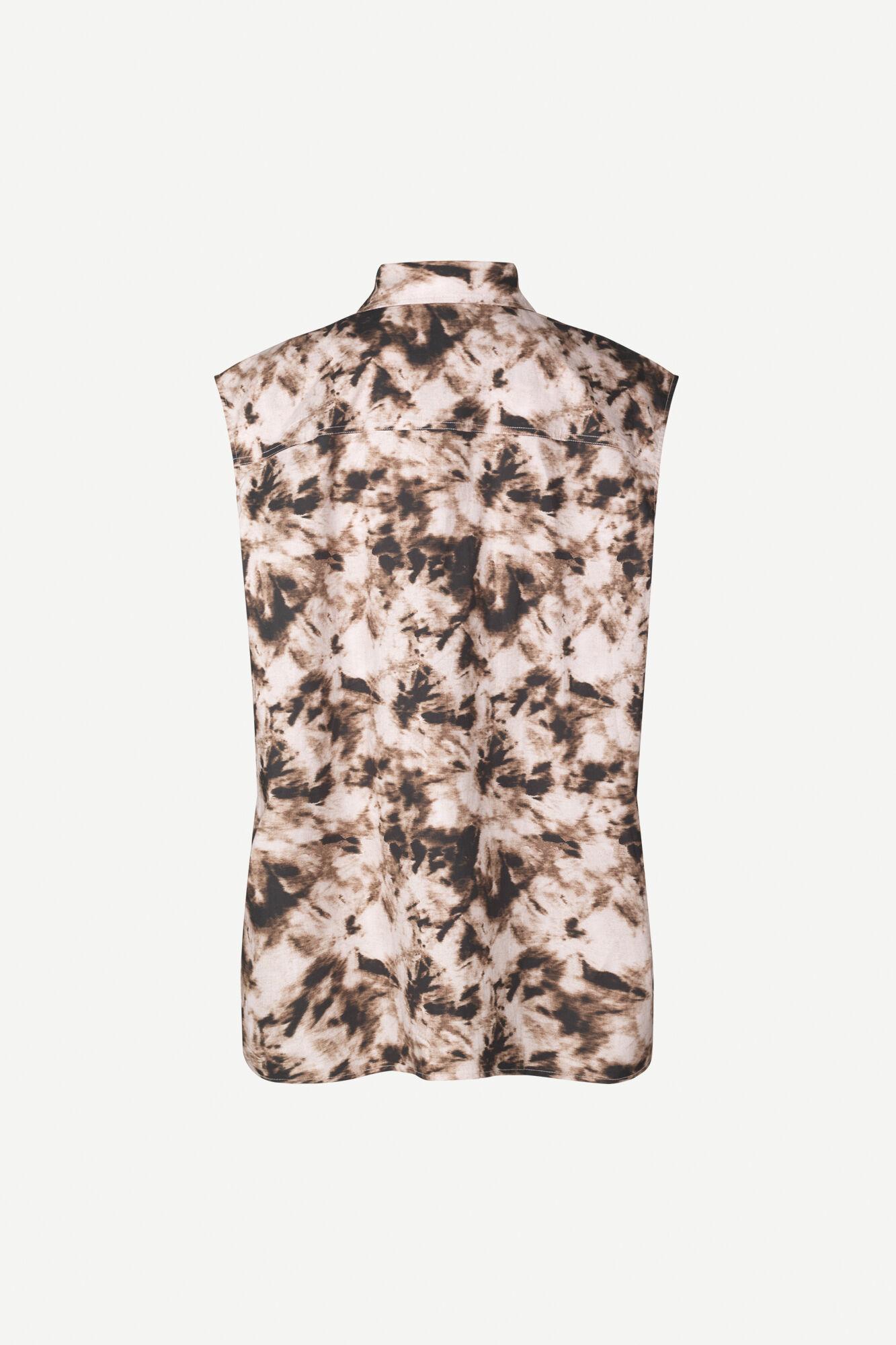 Tea shirt top aop 10783, CAMO CLAY