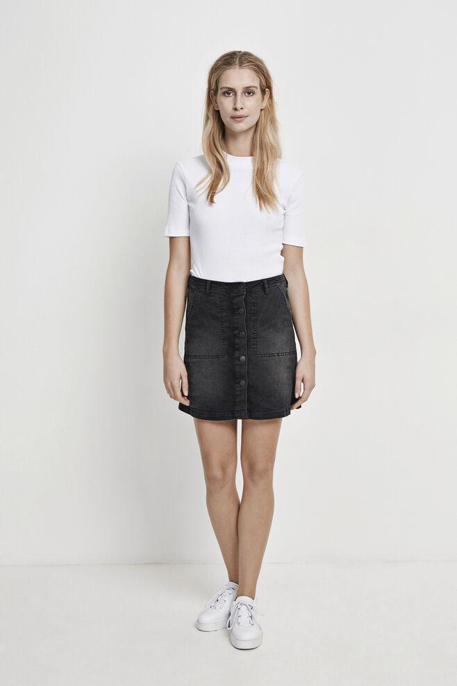 Penny skirt 5891, WORN BLACK