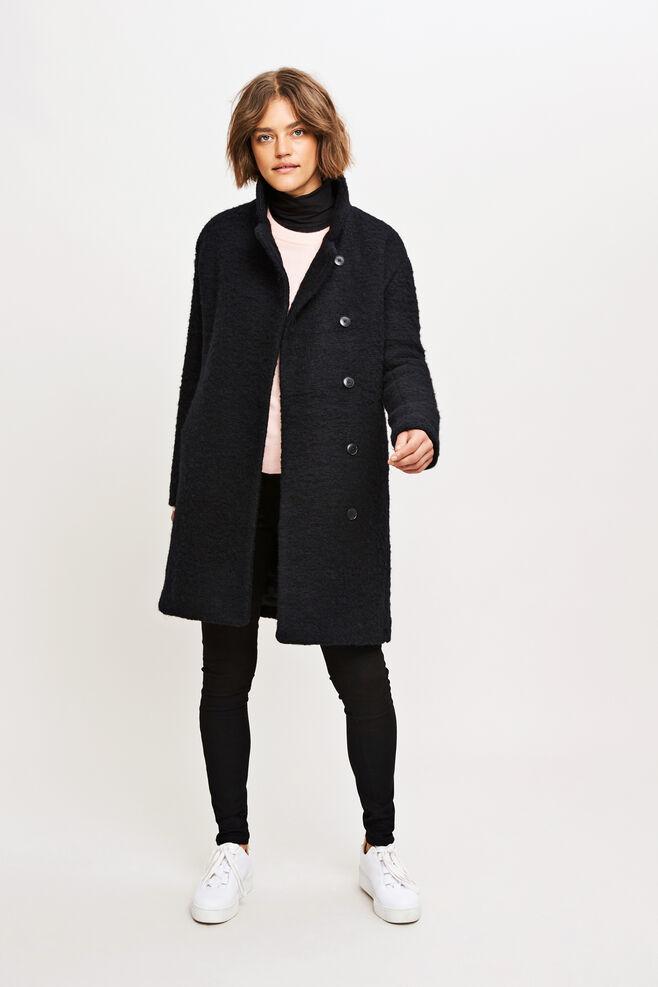 Mildred jacket 6182, BLACK MEL.