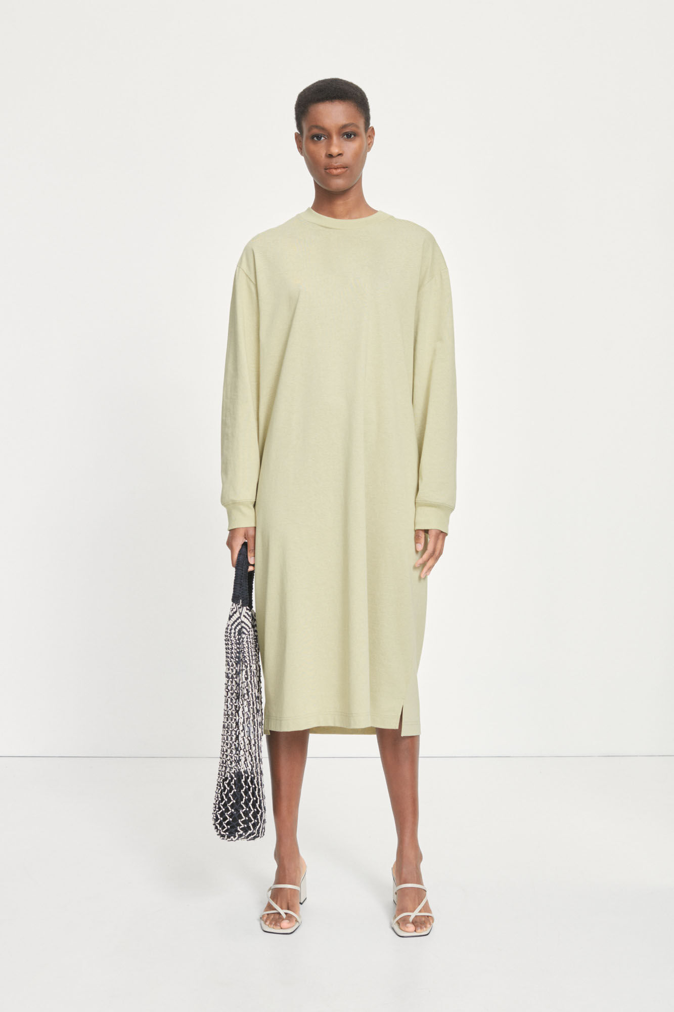 Chrome ls dress 12700, SAGE GREEN