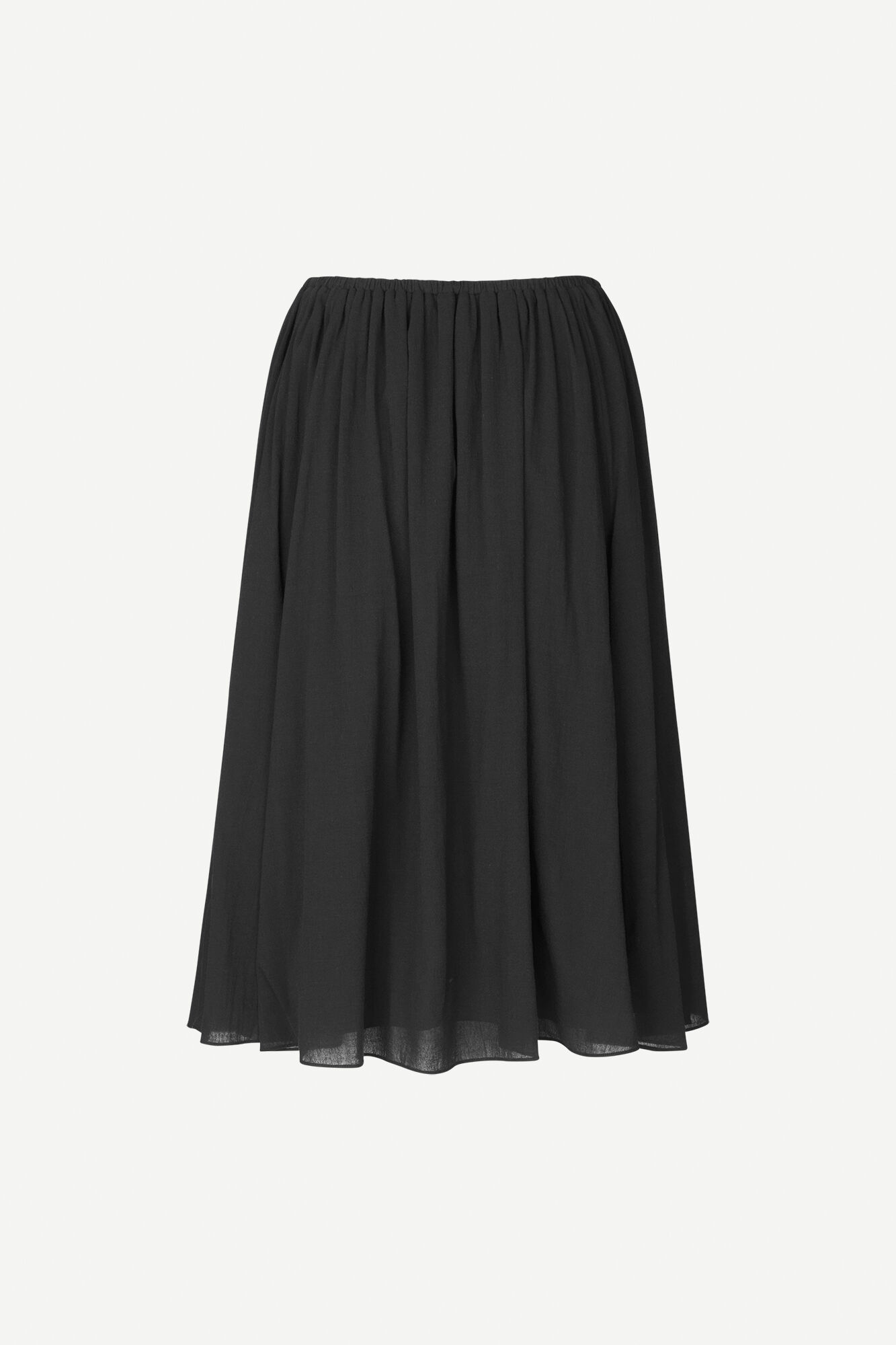 Karla skirt 11463, BLACK