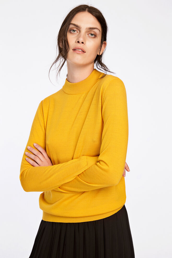 Sanella t-neck 3111, GOLDEN ROD