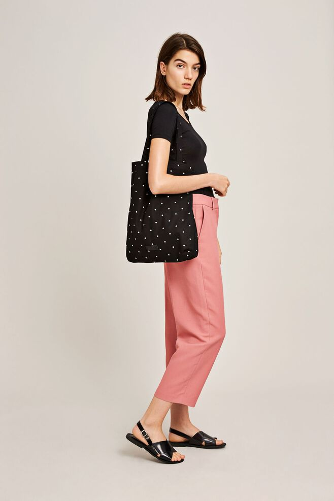 Graphic shopper aop 7904, POINT NOIR