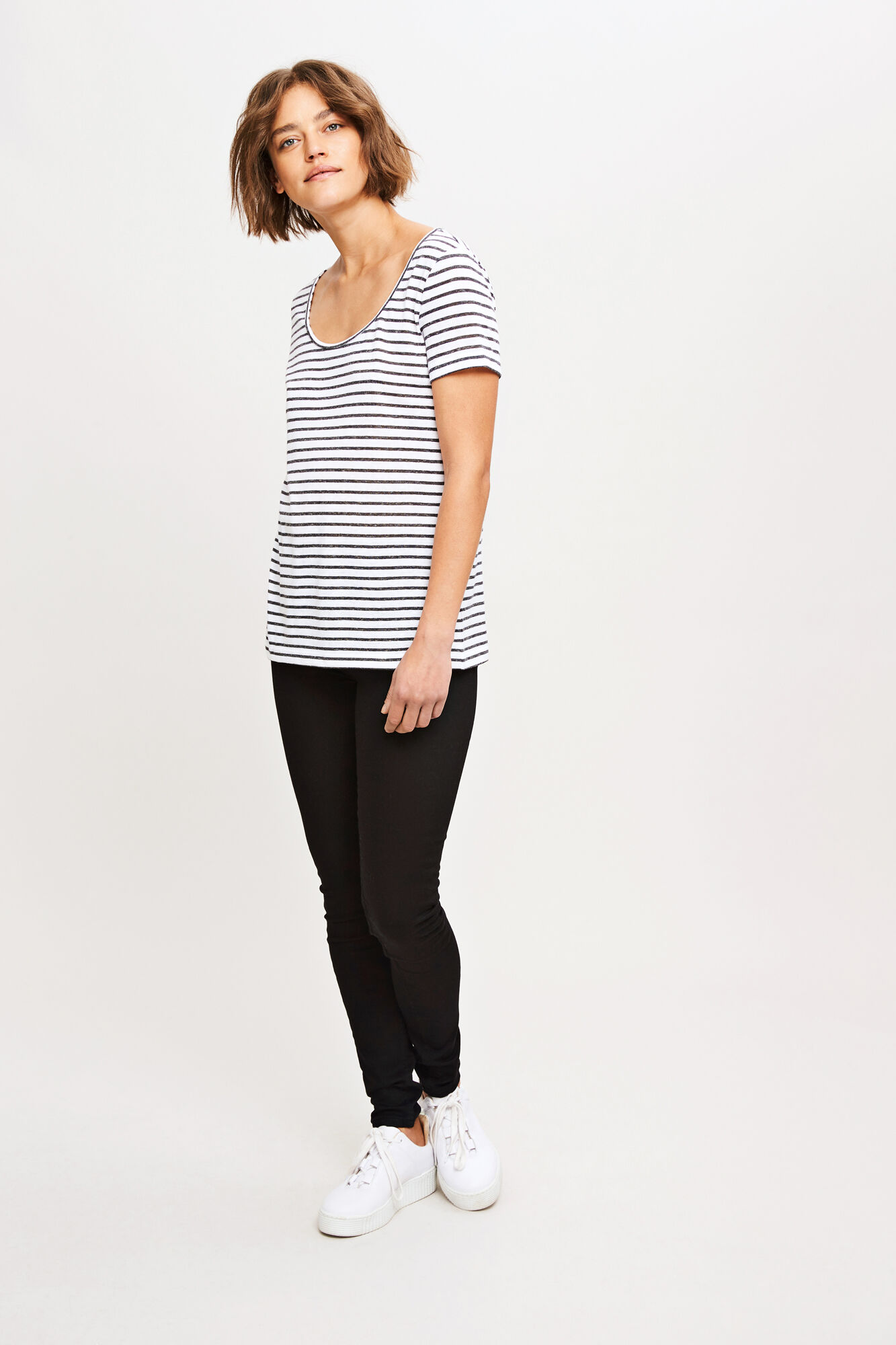Nobel tee stripe 3173