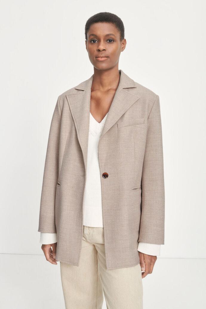 Valerienne jacket 13154, BROWN RICE