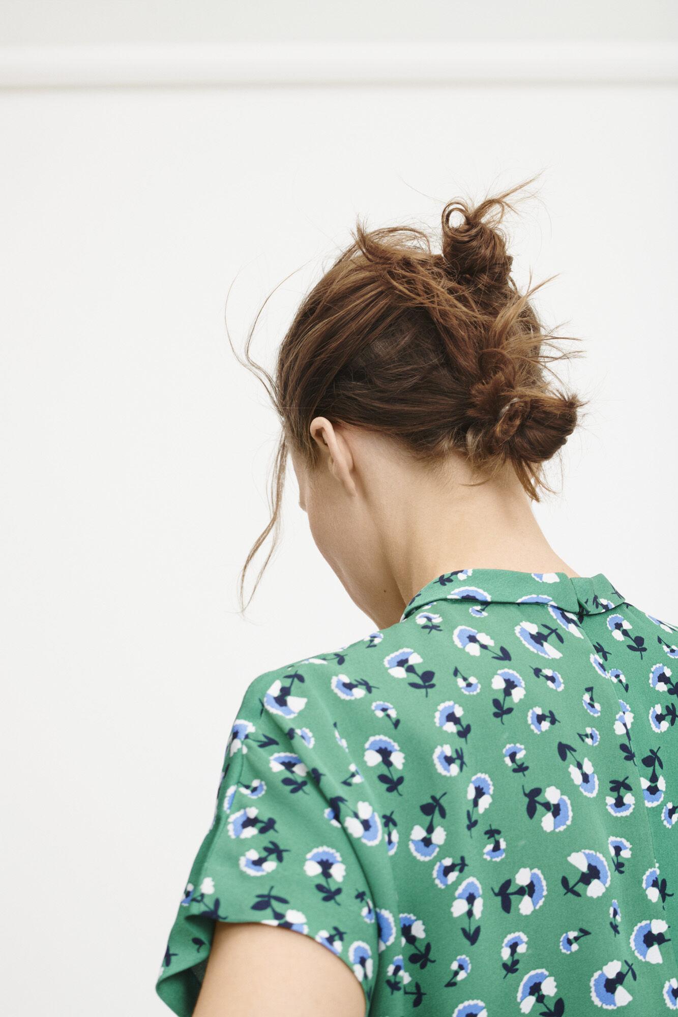 Blumea blouse ss aop 8325