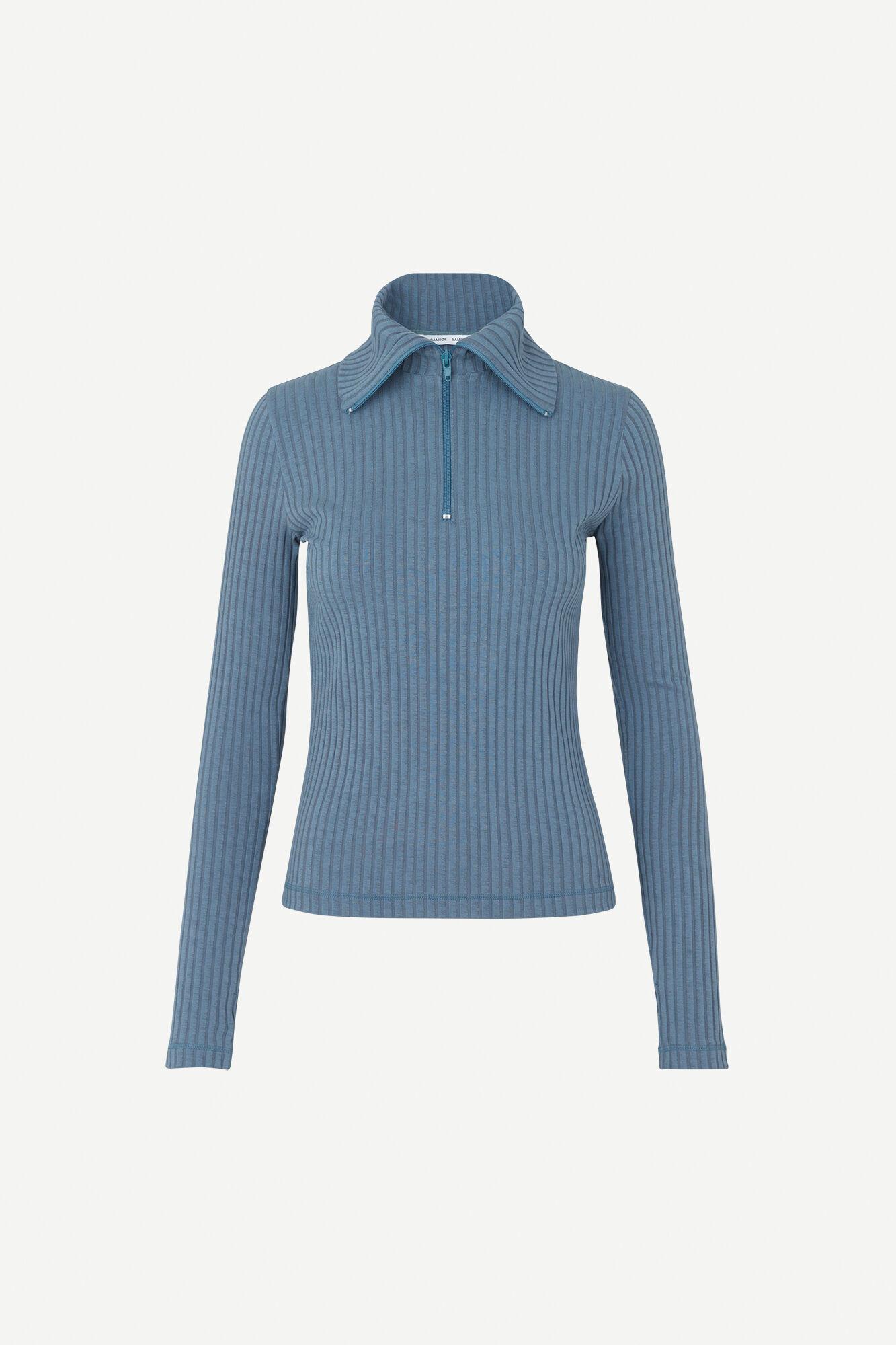 Ada t-n t-shirt ls 11446, BLUE MIRAGE