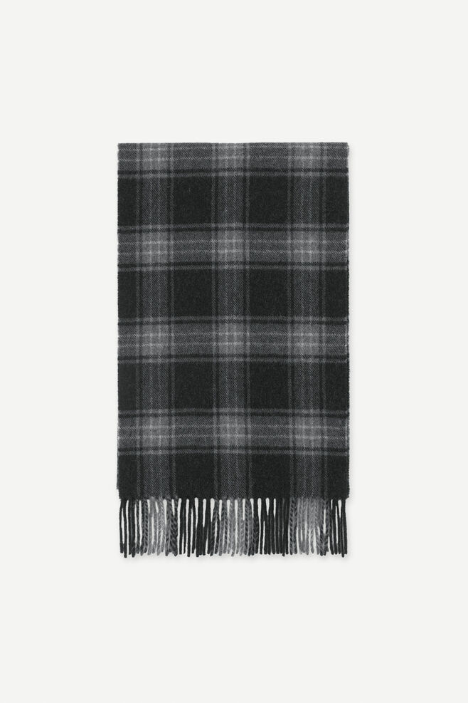 Mikey check scarf 11172