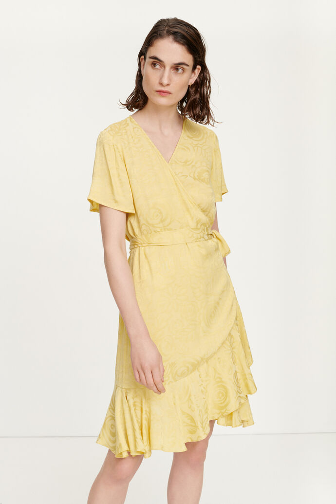 Adelia ss wrap dress 12696