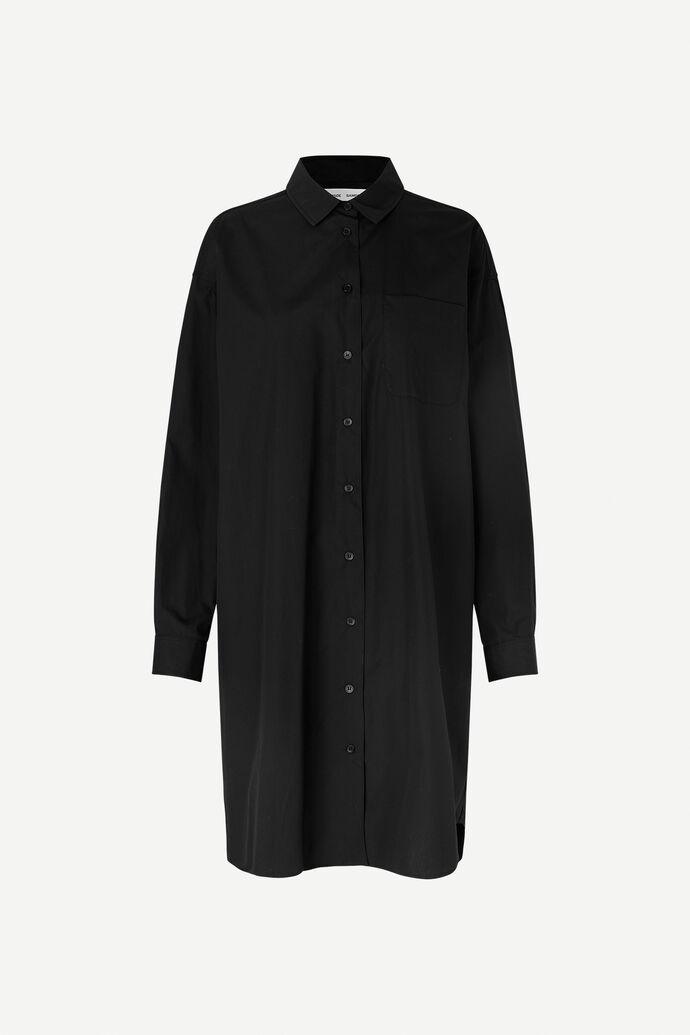 Luana shirt dress 11468, BLACK numéro d'image 4