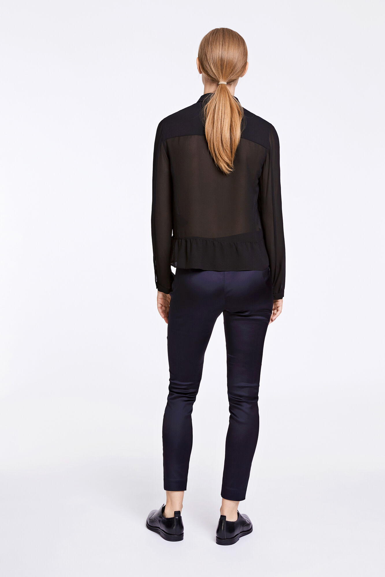 Patricia shirt 6621, BLACK