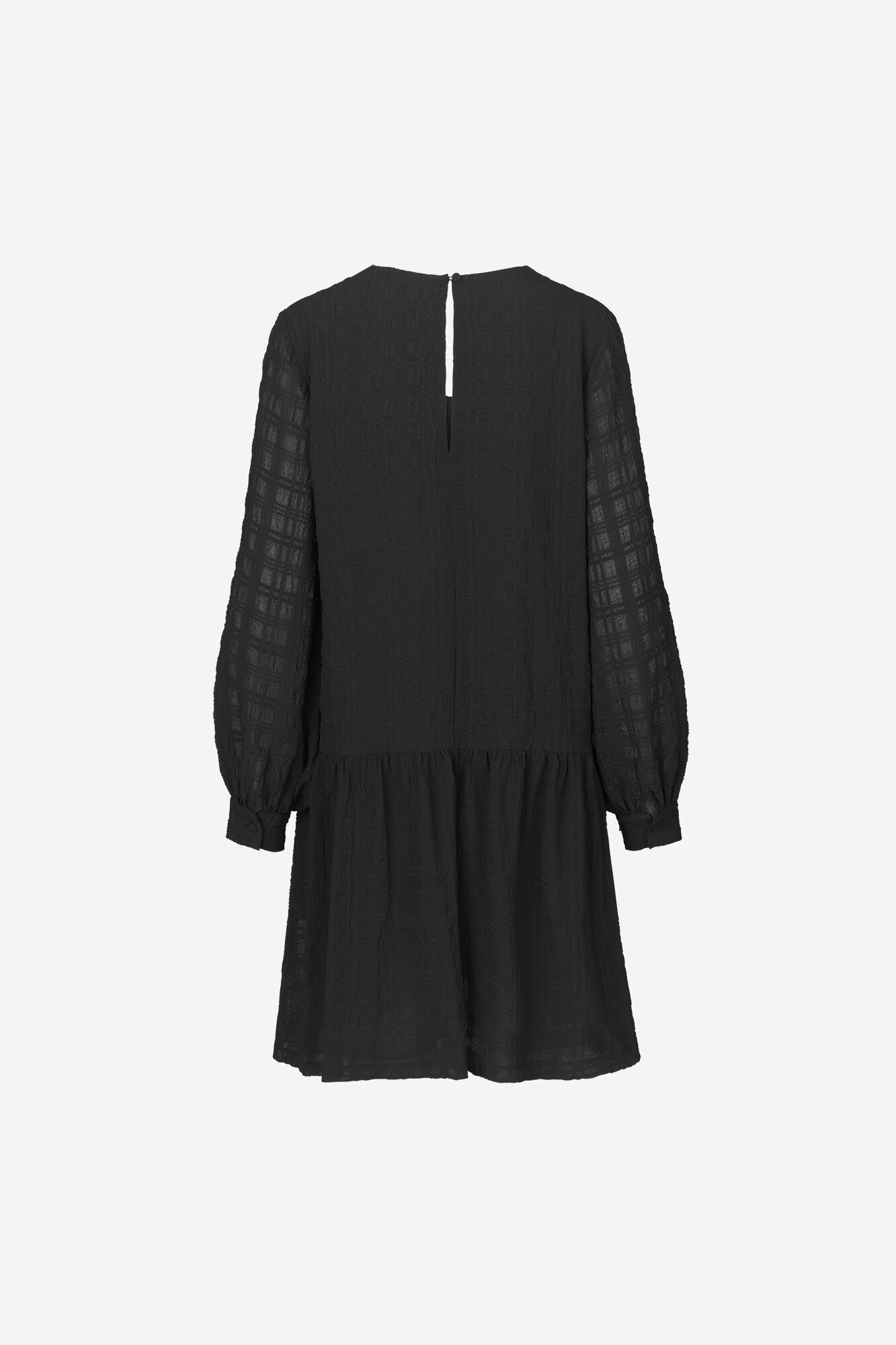 Millo ls dress 12890, BLACK