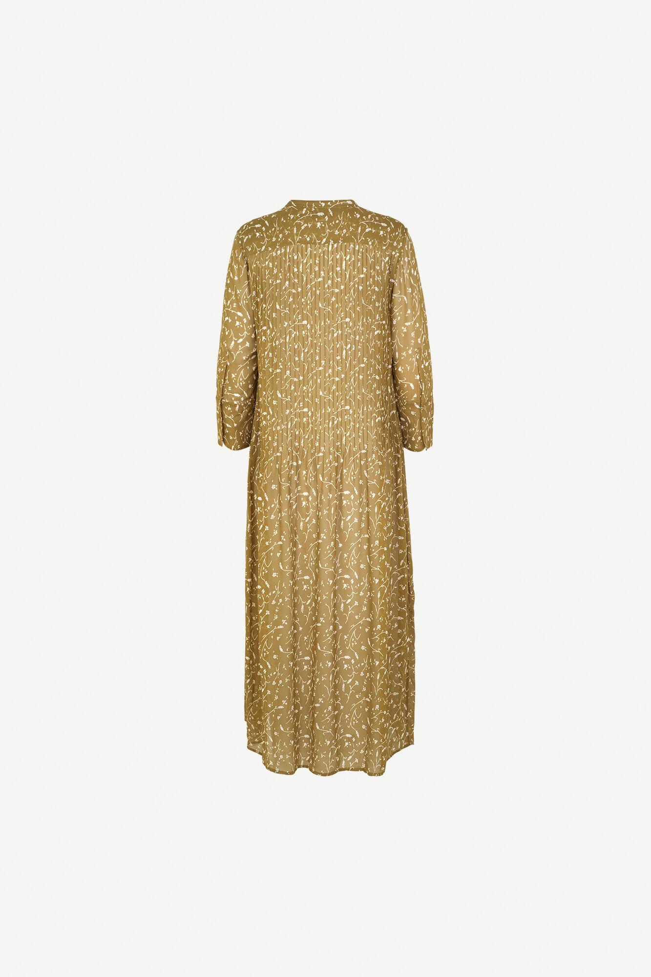 Elm ml dress aop 9695, FEUILLES KHAKI