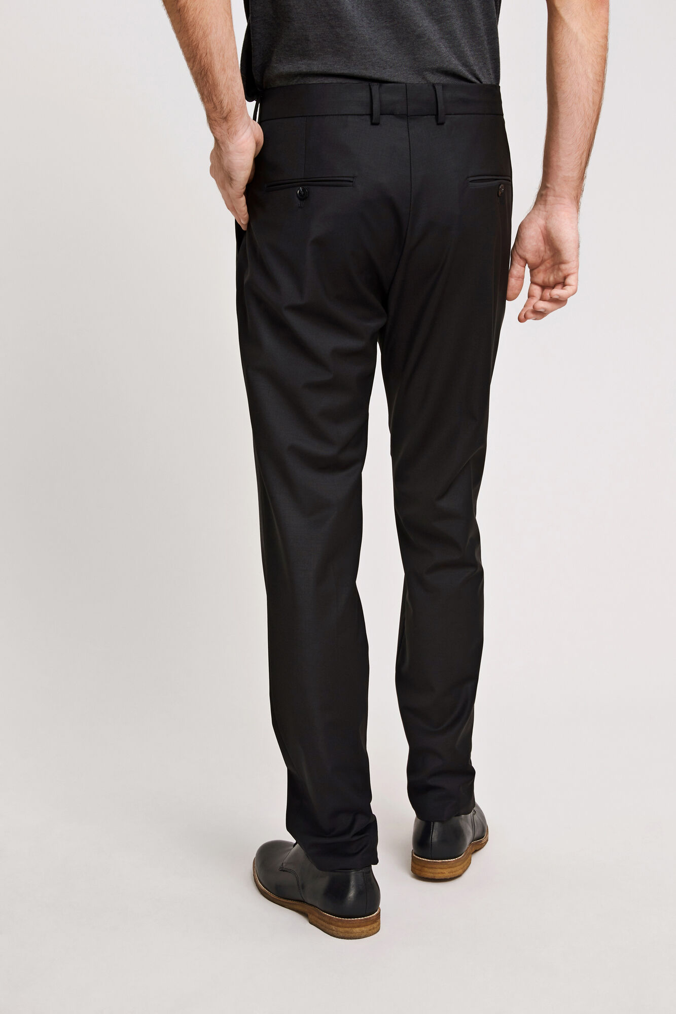 Nat trousers 3806, BLACK