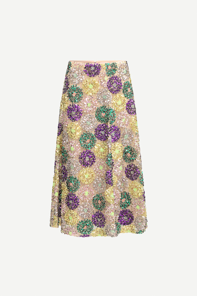 Henny skirt 12780, MULTI GLITTER