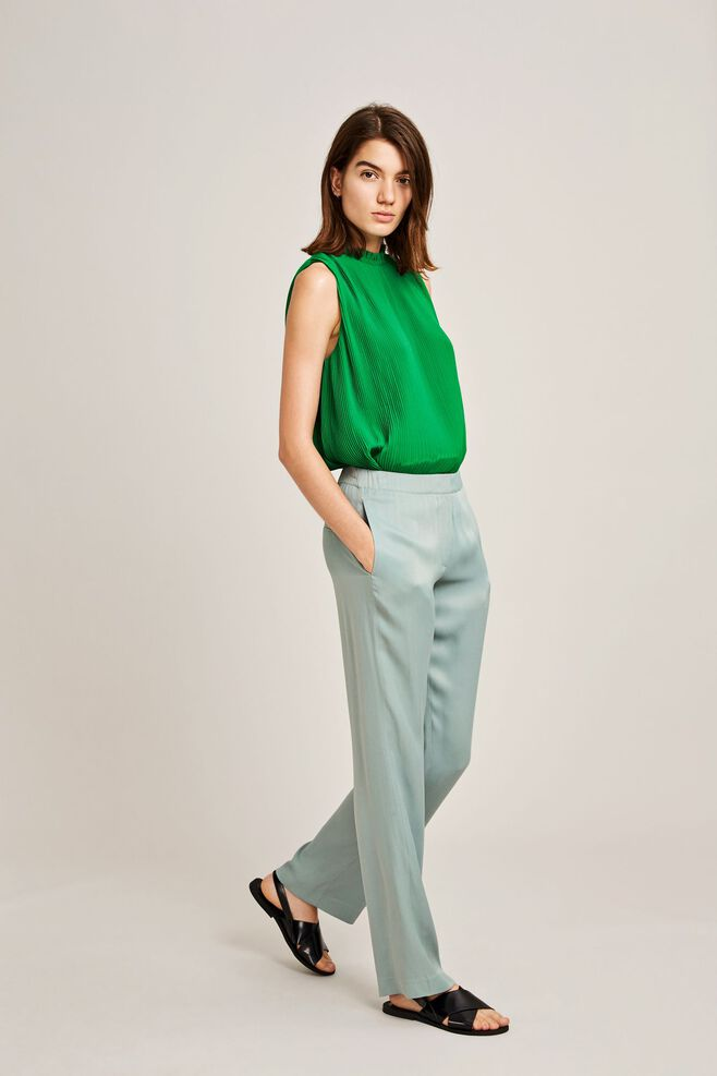 Hoys straight pants 7700, CHINOIS GREEN