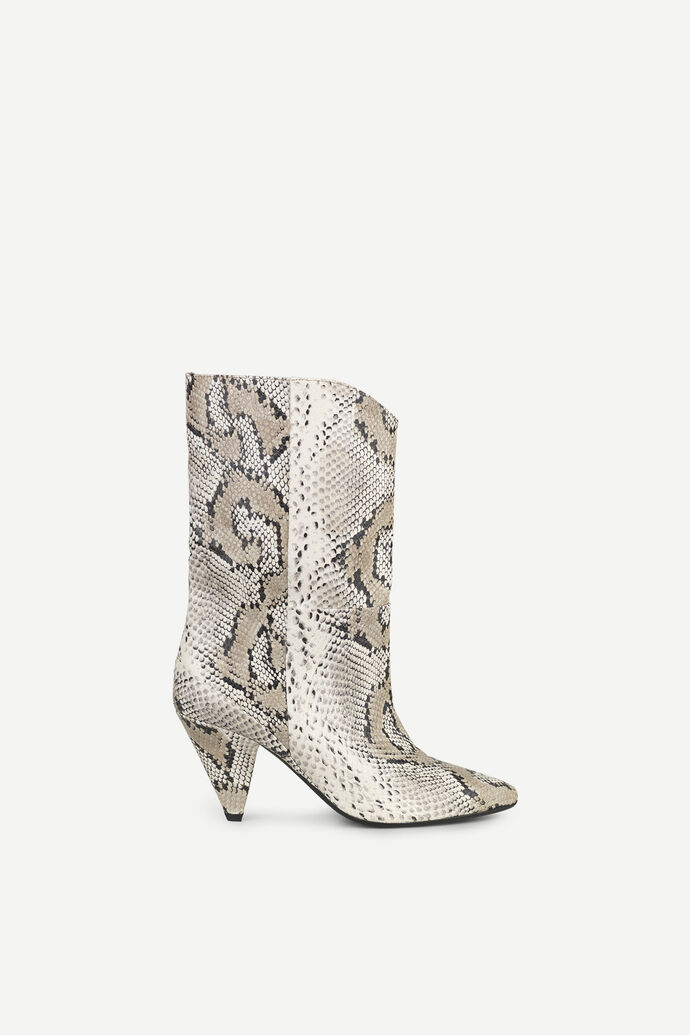 Myral boot 11398, WHITE SNAKE