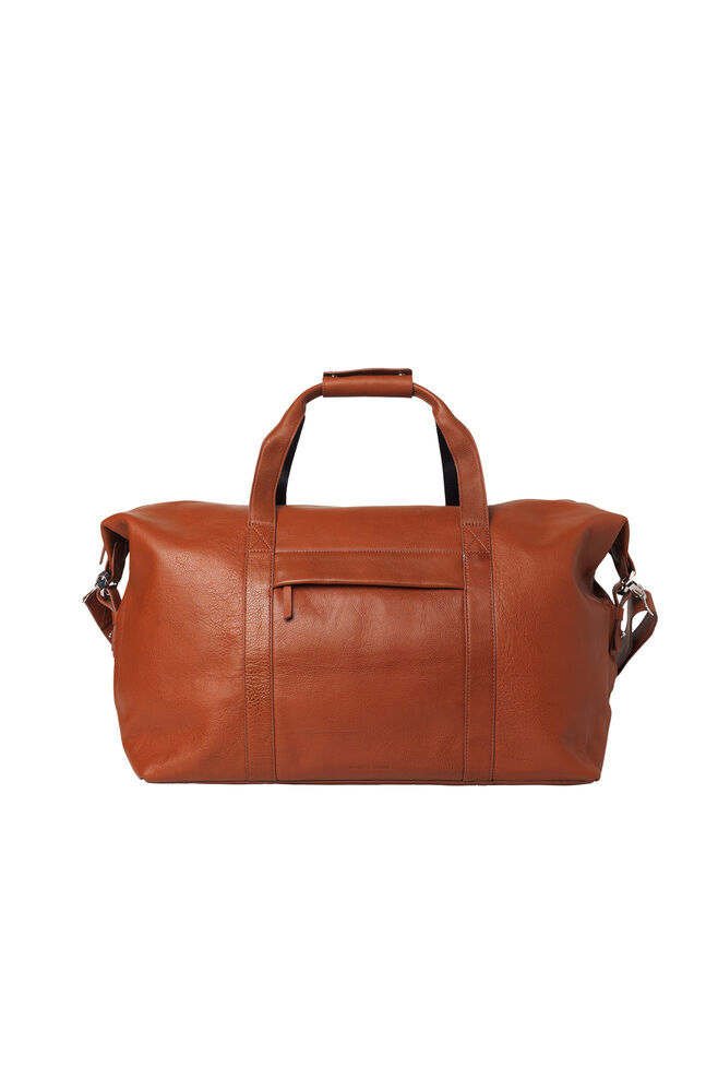 Monty weekend bag 3338, COGNAC
