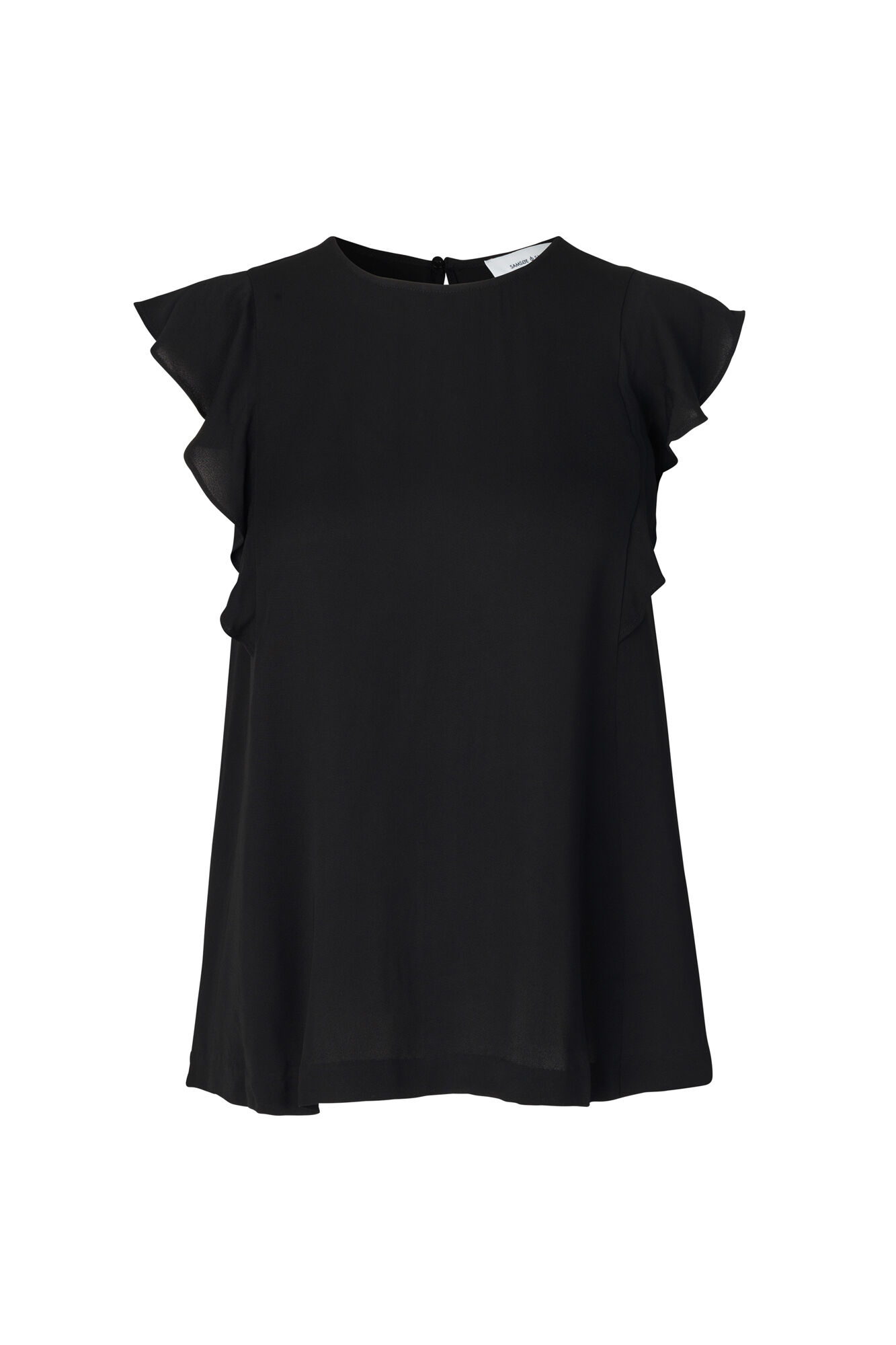 Mentha top 6616, BLACK