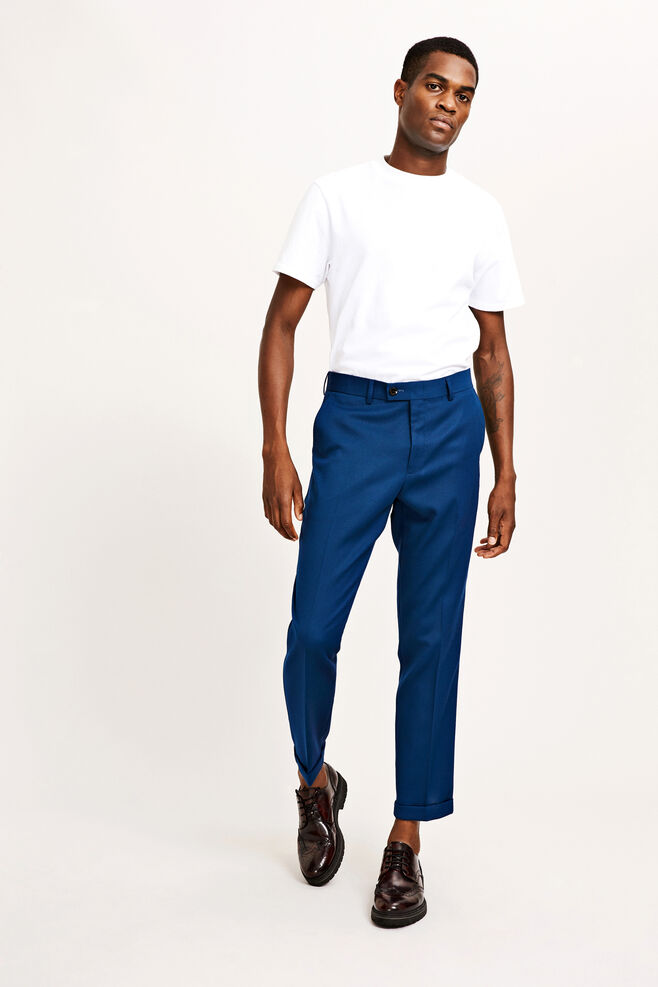 Laurent pants fold up 8197