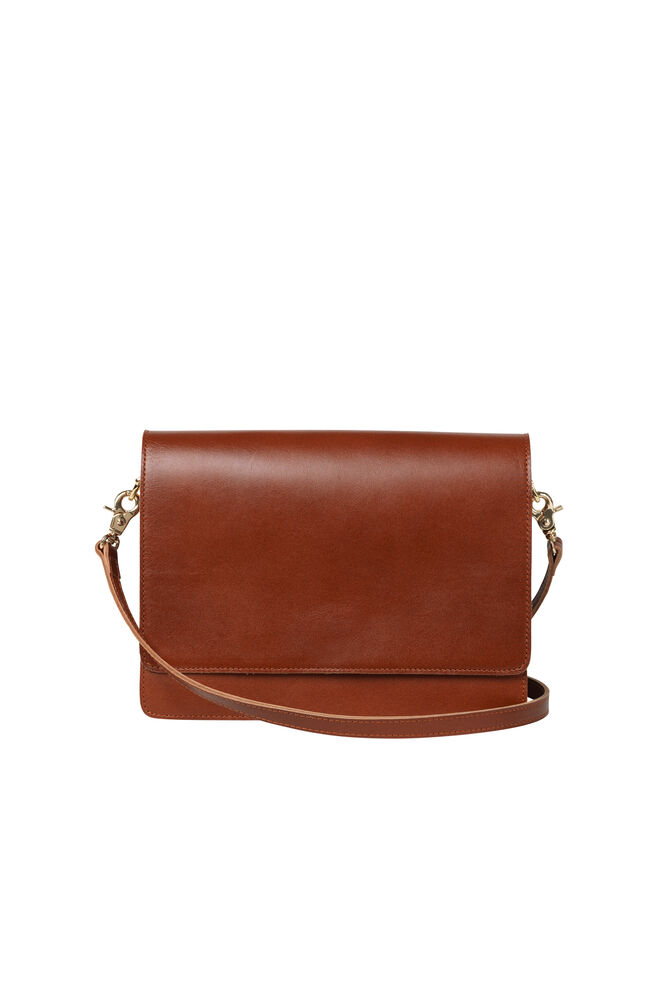 Poppy shoulder bag 8166, COGNAC
