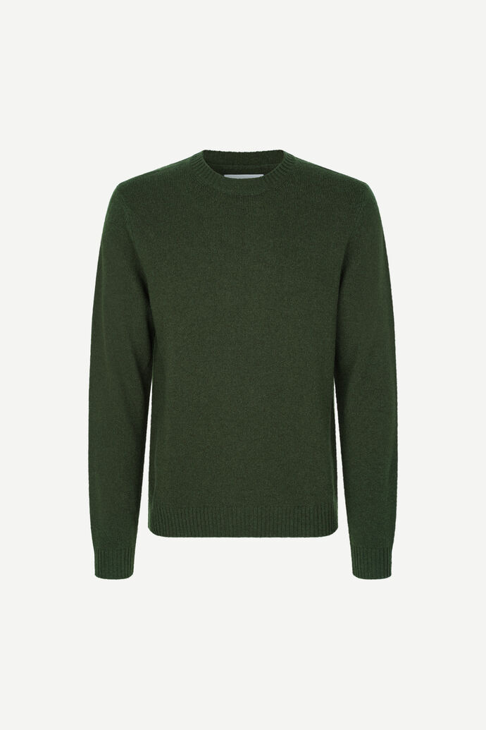 Sylli crew neck 132, KAMBU GREEN