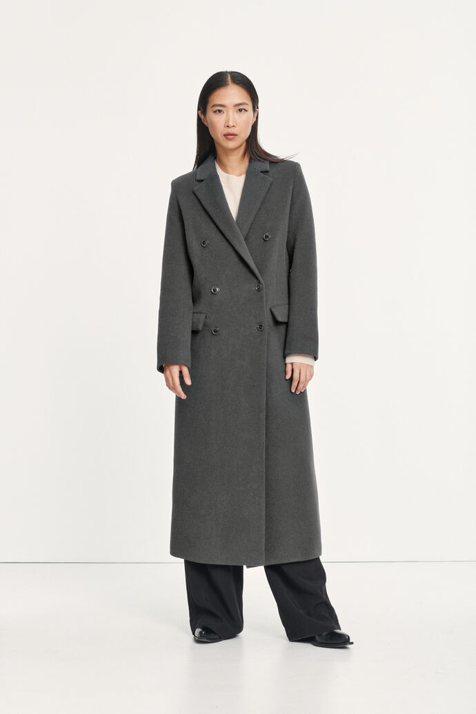 Falcon coat 11104, GREY MEL.