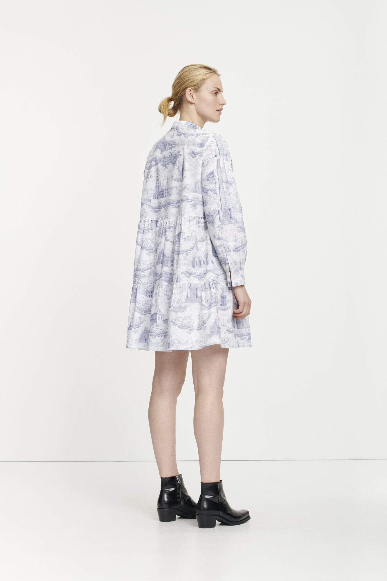 Margo shirt dress aop 11332
