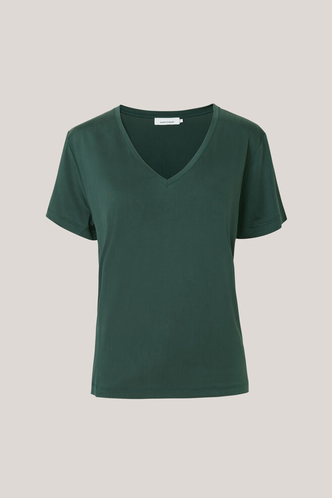 Siff v-neck 6202, DARKEST SPRUCE
