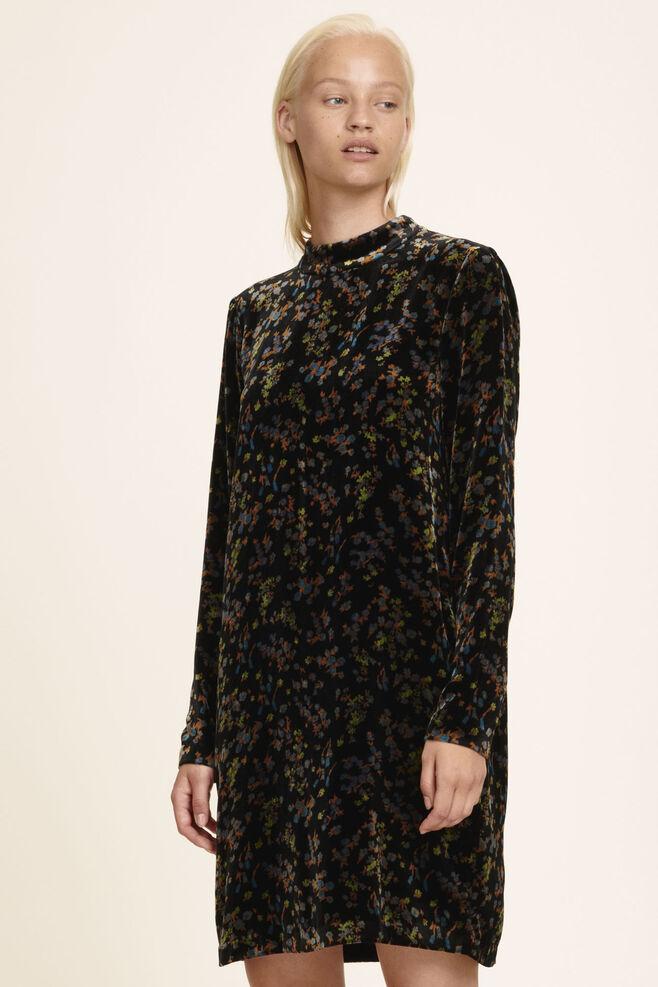 Theta t-n dress aop 6627