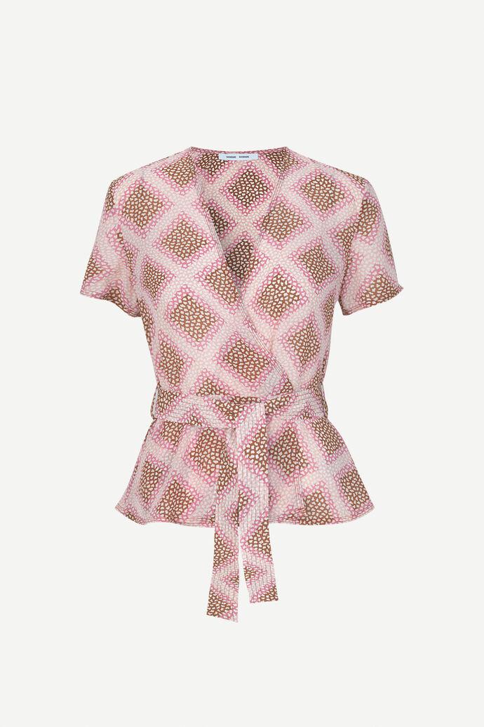 Klea ss blouse aop 6621, FOULARD