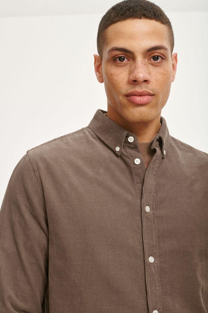 Liam BX shirt 10504, SHITAKE