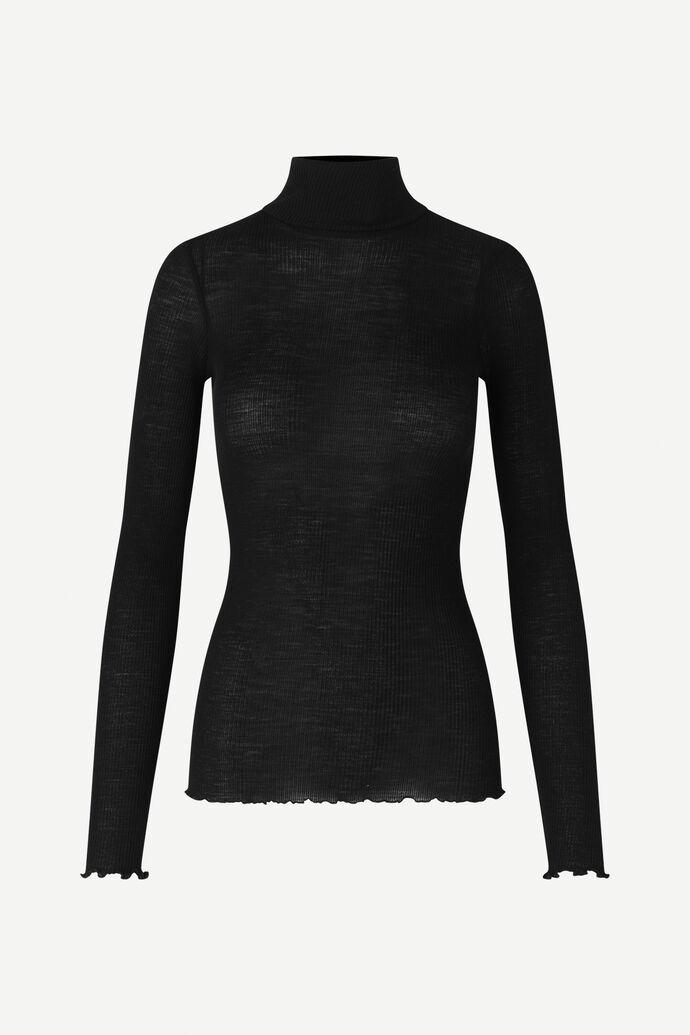 Doudo t-n t-shirt ls 13020, BLACK numéro d'image 5