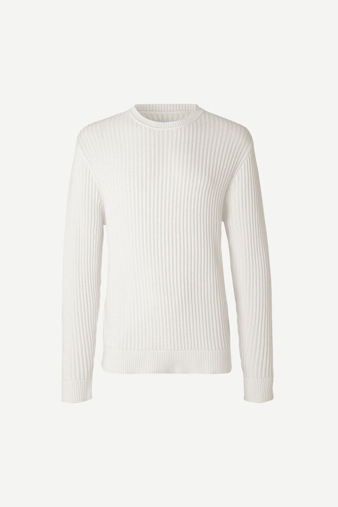 Kalmar crew neck 11577, CLEAR CREAM