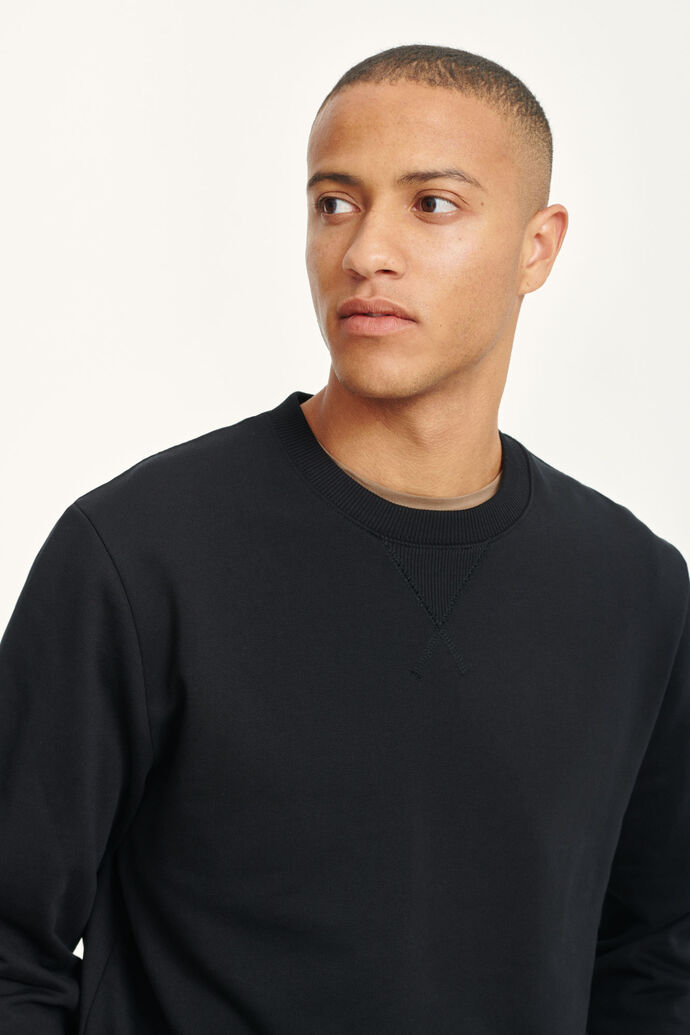 Hugo crew neck 11414, BLACK