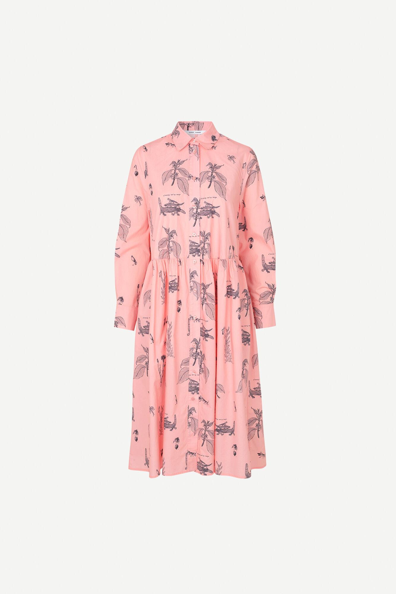 Natalie shirt dress aop 11332
