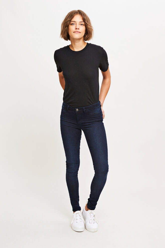 Jasmine jegging 5981, BLACK CARBON