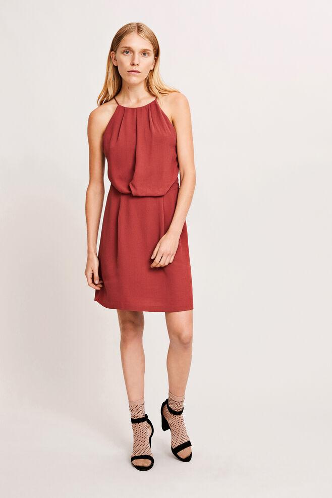 Willow short dress 5687, APPLE BUTTER