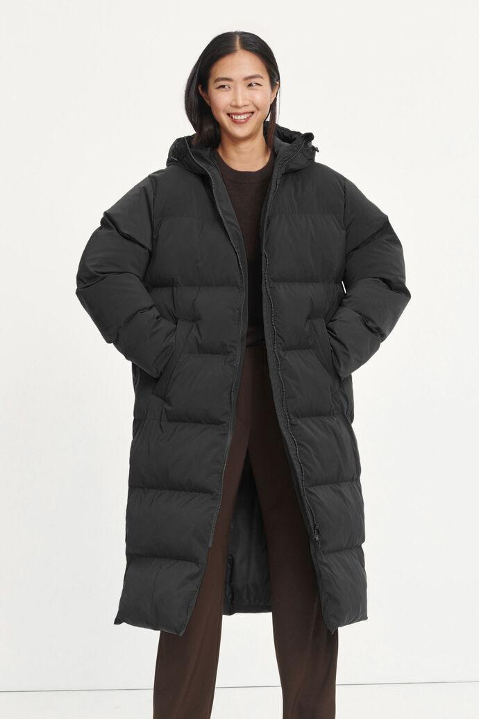 Sera coat 12891, BLACK