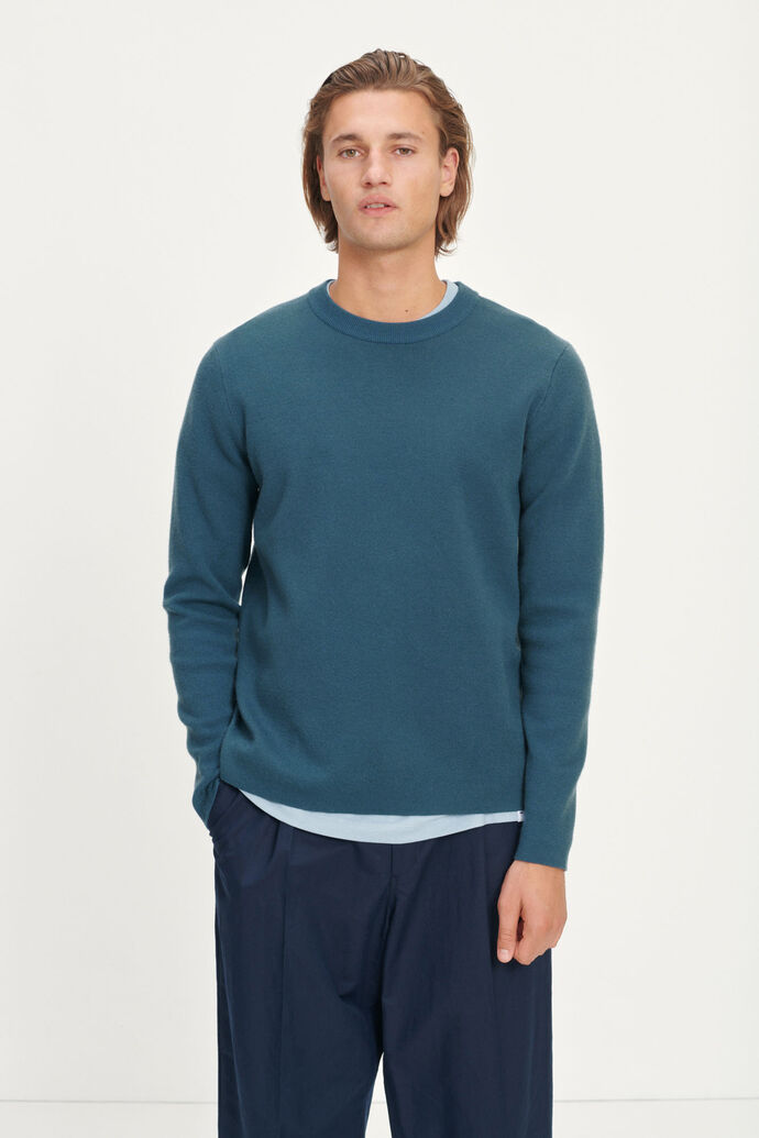 Gunan crew neck 10490, ORION BLUE