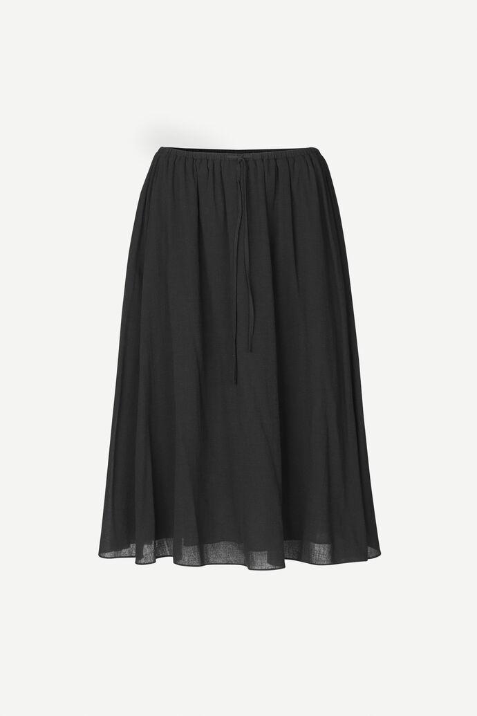 Karla skirt 11463, BLACK