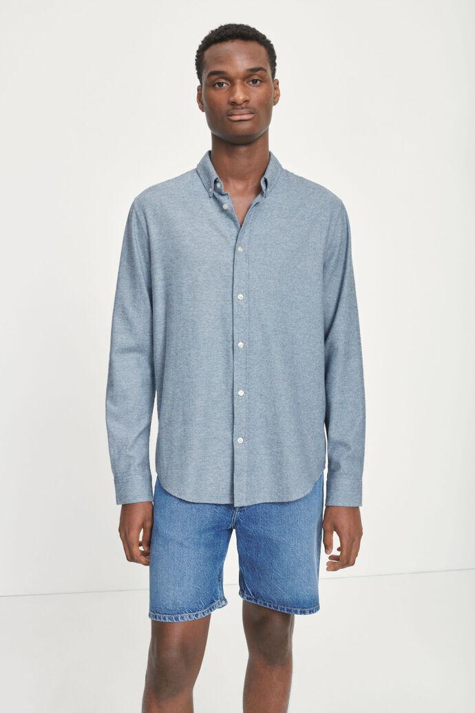 Liam BX shirt 14039, BLUE FOG