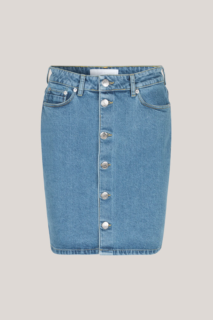 Pamela button skirt 10997